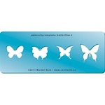 Embossing Template: Butterflies 2