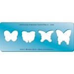 Embossing Template: Butterflies 2 - Trim