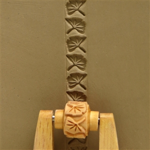 Large Wooden Mini Roller - Gingko Leaves