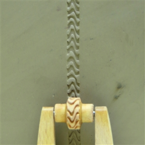 Wooden Mini Roller - Zebra Stripes 5mm