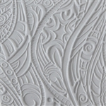Texture Tile: Tribal Zentangle Embossed