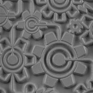 Texture Tile - Electric Gears