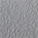 Texture Tile - Simple Leaves Embossed
