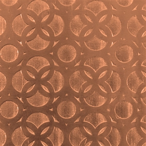 Textured Metal - Confessional Wall - Copper 24 gauge