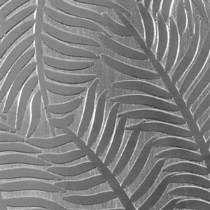 Textured Metal - Ferns or Feathers - Sterling Silver 24 gauge