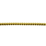 Patterned Wire - Brass - 2mm Polka Dots 12 gauge - 6 inches