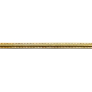 Patterned Wire - Brass - Gallery #2 12 gauge Dead Soft - 6""