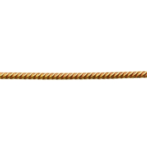 Brass Gallery Wire Rope #1