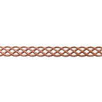 Patterned Strip - Copper - Knot - 6 inches
