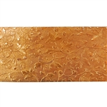 Patterned Strip - Copper - Hawthorn 22 gauge - 6 inches