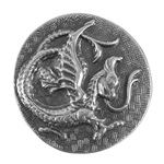 Antique Mold - Dancing Dragon