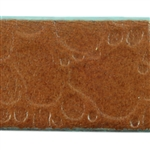 Creek Bed Textured Leather - 10mm Brown with Turquoise - 6""