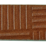 Patchwork Textured Leather - 6""