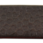 Polka Dots Textured Leather - 6""