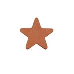 Copper Shape - Star - 12mm