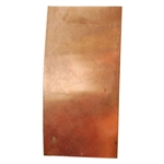 "Metal Sheet - Copper 26 gauge - 3"" x 6"""