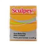 Sculpey III Polymer Clay - Gold 2 oz block