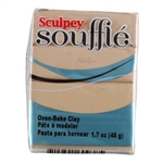 Sculpey Souffle Polymer Clay - Sandcastle 2 oz block