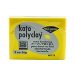 Kato Polyclay - Yellow 2 oz block