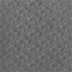 Texture Tile: Nested Scallops Embossed