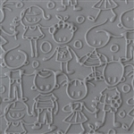 Texture Tile - Stick Together Embossed