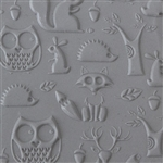 Texture Tile - Woodland Residents Embossed