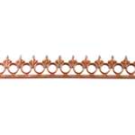 Bezel Wire - Copper - Gallery #4 - 6 inches